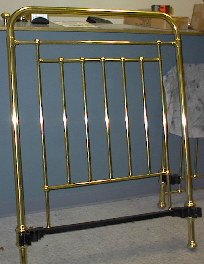 brass bed cleaning