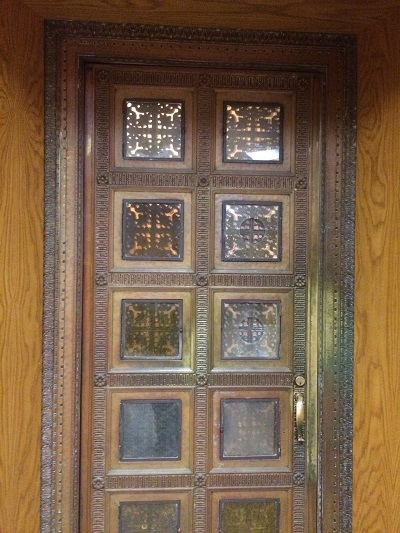 Greek Orthodox Cathedral Bronze Door Restoration