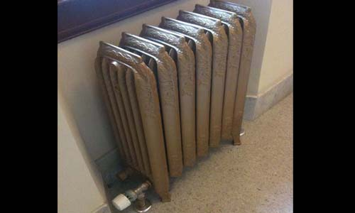 Cast Iron Radiator Refinishing